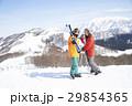 スキー カップル ポートレート 29854365