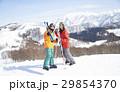 スキー カップル ポートレート 29854370