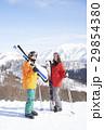 スキー カップル ポートレート 29854380
