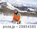 スキー場 男性 ポートレート 29854385