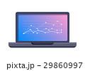 PC ノートパソコン スクリーンのイラスト 29860997