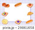 色々なパンの枠 29861658