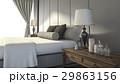 ベッド ランプ 灯のイラスト 29863156