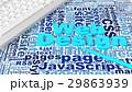 Web デザイン 柄のイラスト 29863939