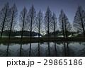 4月の木星と木立・千葉県柏市あけぼの農業公園 29865186