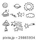 手描き チョーク クレヨン 29865934