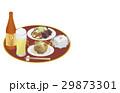 食べ物 料理 晩酌のイラスト 29873301