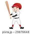 少年野球(赤ユニフォーム) 29876648