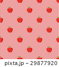 Red apples pattern seamless 29877920