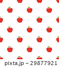 Red apples pattern seamless 29877921