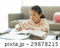 女の子 勉強 子供の写真 29878215