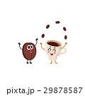 コーヒー 迴育栖 豆のイラスト 29878587