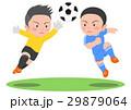 サッカー 競り合い 29879064