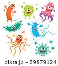 菌 ウィルス ウイルスのイラスト 29879124