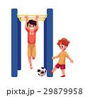 少年 ベクトル かけるのイラスト 29879958