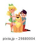 ベクトル ねこ ネコのイラスト 29880004
