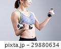 ウェイトトレーニング ダンベル フィットネスの写真 29880634
