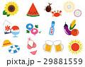 夏のイメージアイコン 29881559