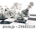チェス ゲーム 試合のイラスト 29883219