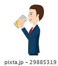 ビジネスマン ベクター ビールのイラスト 29885319