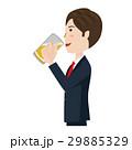 ビジネスマン ベクター ビールのイラスト 29885329