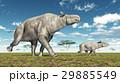 Adult Paraceratherium and baby Paraceratherium 29885549