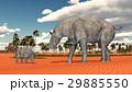 Adult Paraceratherium and baby Paraceratherium 29885550
