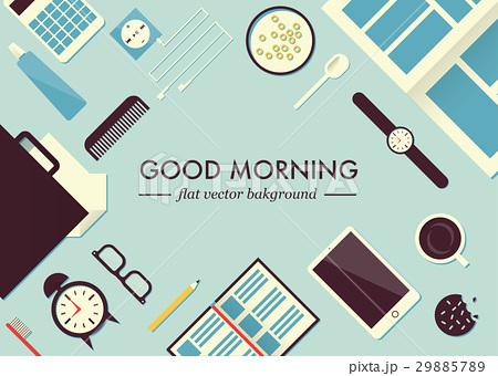 Morning table illustrationのイラスト素材 [29885789] - PIXTA