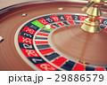 カジノ カジノの ルーレットのイラスト 29886579