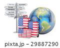 旅行 アメリカ 概念のイラスト 29887290