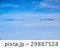 ボリビア ウユニ塩湖 青空の写真 29887528