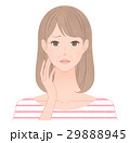 シワに悩む女性 29888945