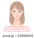 困り顔の女性 29888948