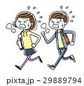 学生 男の子 女の子のイラスト 29889794