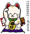 招き猫 置物 幸せのイラスト 29889821