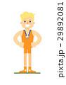 レスリング レスラー レスリング選手のイラスト 29892081