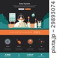 ソーラー 太陽 スペースのイラスト 29893074