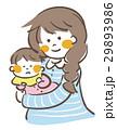 お母さん 人物 赤ちゃんのイラスト 29893986