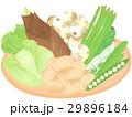 春野菜  <お野菜とざる> 29896184