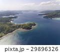 空撮の大島海峡 (東の端から西を望む) 29896326