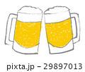 生ビール ジョッキ ビールのイラスト 29897013