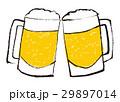 生ビール ジョッキ ビールのイラスト 29897014