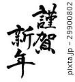 謹賀新年 年賀状 年賀状素材のイラスト 29900802