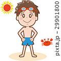 子供 男の子 少年のイラスト 29901800