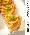 オレンジ&ヘーゼルナッツクリームのタルト (アップ) 29905837