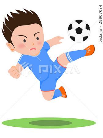 サッカー ボレーシュート 29907034