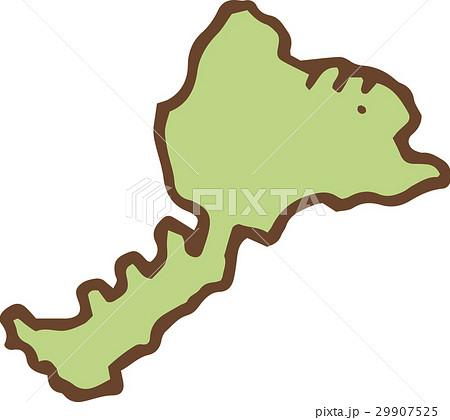日本地図-福井県 29907525