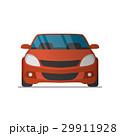 車 自動車 赤色のイラスト 29911928