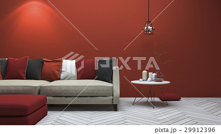 modern style living room with minimal decor 29912396