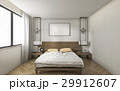 ミニマル ベッド 明るいのイラスト 29912607